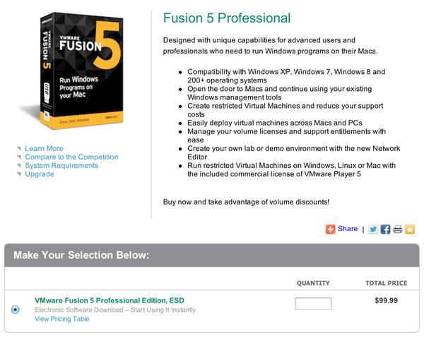 Vmware fusion 5 pro : Adam and eve online store